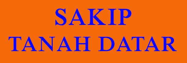 SAKIP TANAH DATAR
