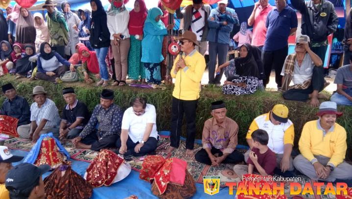 WABUP ZULDAFRI : PACU JAWI POPULERKAN TANAH DATAR DI MANCANEGARA