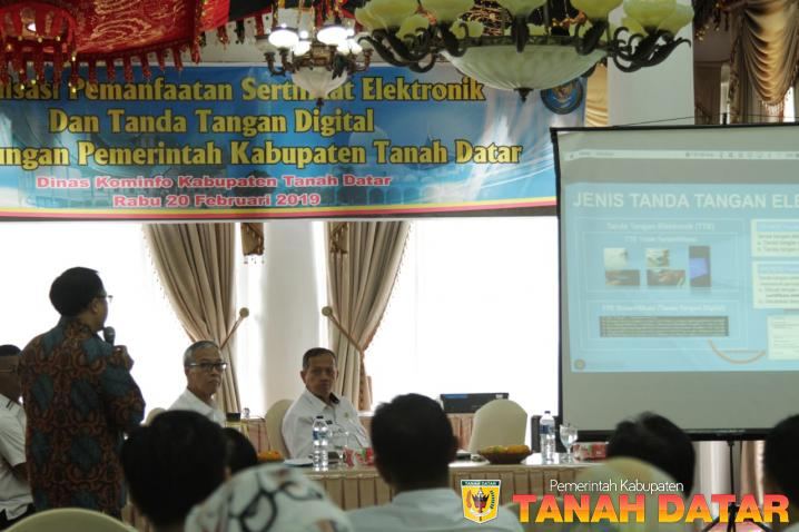 BSSN Sosialisasikan Sertifikasi Elektronik dan Tanda Tangan Digital