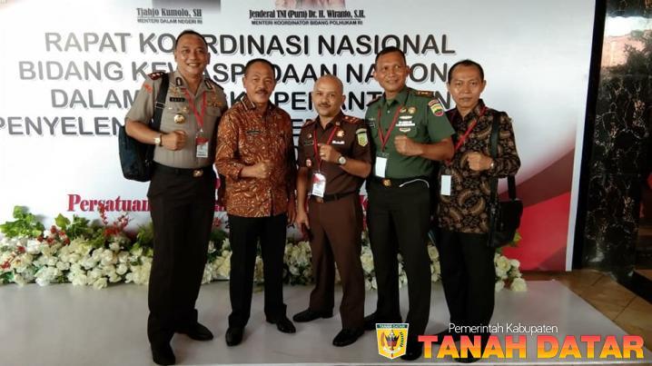 PEMKAB TANAH DATAR, TNI DAN POLRI SIAP UNTUK BERSINERGI