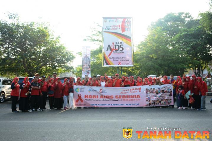 PERINGATI HARI AIDS SEDUNIA, KADIS dr. YESRITA AJAK JAUHI PENYAKITNYA, BUKAN ORANGNYA