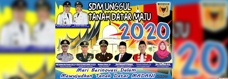 SDM Unggul Tanah Datar Maju 2020
