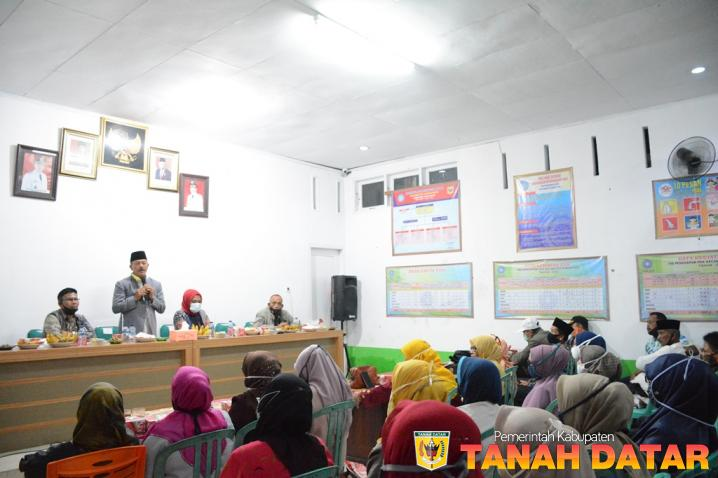 Dialog Dengan Plt. Bupati Zuldafri, Masyarakat Sungayang Sampaikan Berbagai Aspirasi