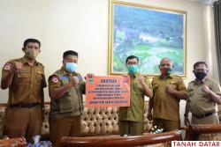Rawan Bencana, Pemkab Tanah Datar Terima Bantuan BPBD..