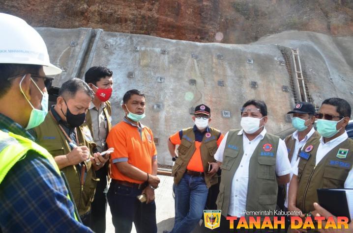 Pakai Teknologi Konstruksi Baru, Deputi BNPB Puji Pembangunan Pengaman Tebing Puncak Pato