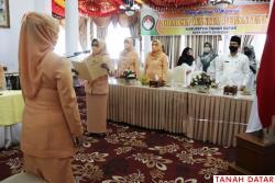 Pengurus Dharma Wanita Persatuan Tanah Datar Masa Bhakti..