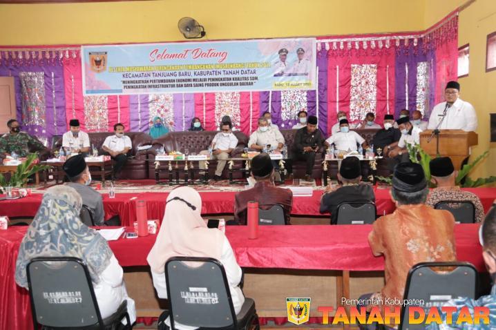 Kecamatan Tanjung Baru Salah Satu Daerah Terdepan Tanah Datar