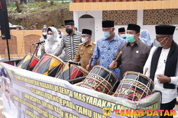 Pembangunan Rampung, Masjid Ihsan Sungai Patai Diresmikan