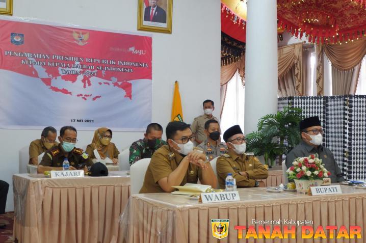 Presiden Joko Widodo beri Arahan pada Rakor Kepala Daerah se-Indonesia