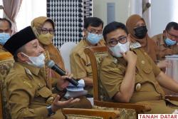 Bupati dan Wabup Beri Masukan Rancangan KLHS RPJMD..