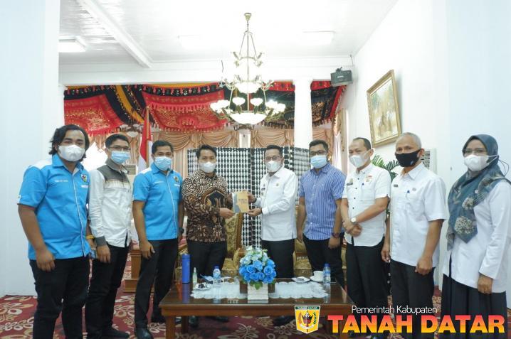Bupati Eka Putra Dorong Peran KNPI dalam Pembangunan
