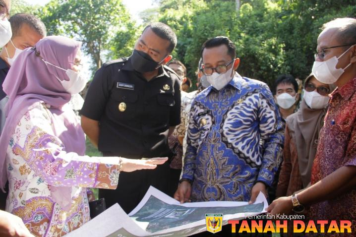 Kunjungan Wagub Audy ke Tanah Datar, BBI Rambatan Disiapkan Jadi Minang Science Technopark