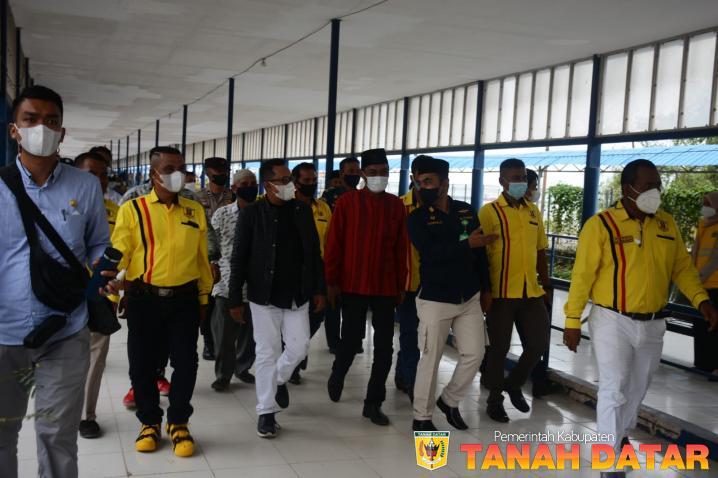 Kunjungi IKTD Kota Dumai, Bupati Eka Putra Disambut Antusias Warga Rantau